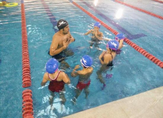 natacion sincronizada entrenamiento en seco